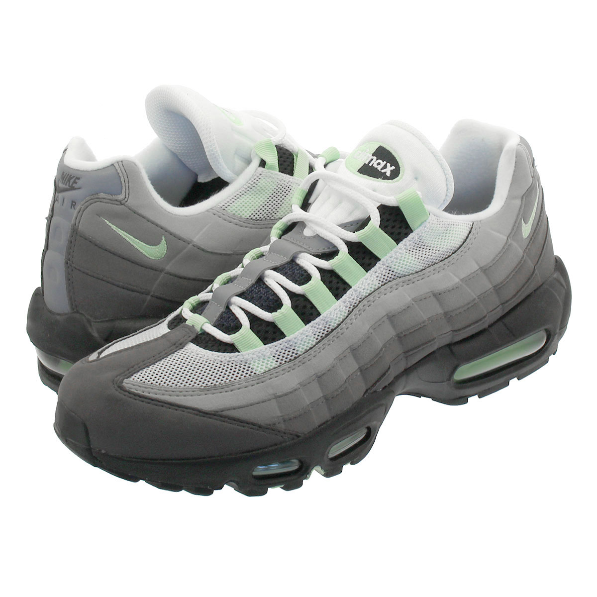 43240d06cd LOWTEX BIG-SMALL SHOP: NIKE AIR MAX 95 Kie Ney AMAX 95 WHITE/FRESH ...