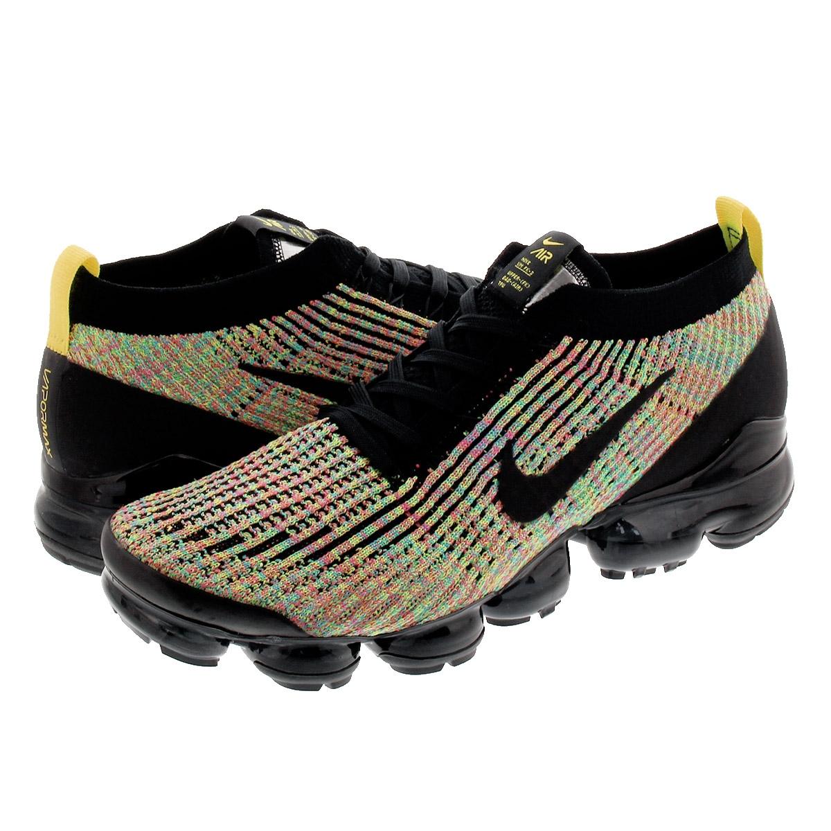 NIKE AIR VAPORMAX FLYKNIT 3 Nike vapor max fried food knit 3 BLACKBLACKVOLT aj6900 006