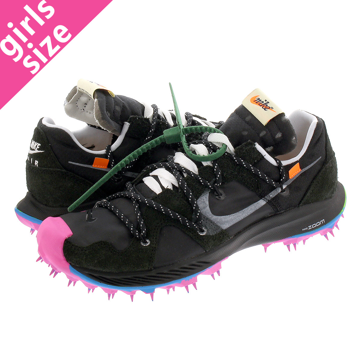 NIKE WMNS ZOOM TERRA KIGER 5 Nike women zoom terra chi garfish 5 BLACKMETALLIC SILVERWHITEPINK BLAST cd8179 001