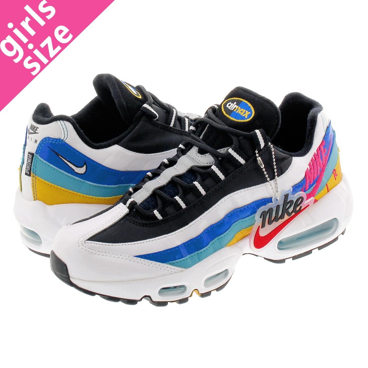 new style d3b74 8fa72 NIKE WMNS AIR MAX 95 Nike women Air Max 95 WHITE/UNIVERSITY GOLD/TEAL  NEBULA/RED ORBIT ci1900-123