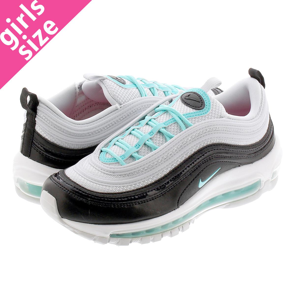 NIKE WMNS AIR MAX 97 Nike women Air Max 97 PURE PLATINUMAURORA GREENBLACKWHITE 921,733 065