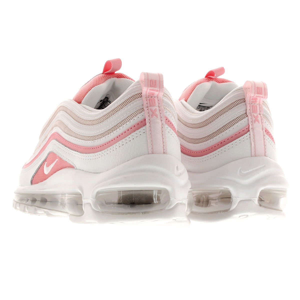 Details about Nike Wmns Air Max 97 White Bleached Coral Pink Women Running Shoes 921733 104