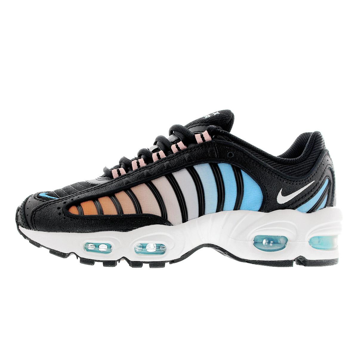 NIKE WMNS AIR MAX TAILWIND IV Nike women Air Max tale wind 4 BLACKWHITECORAL STARDUST cj7976 001