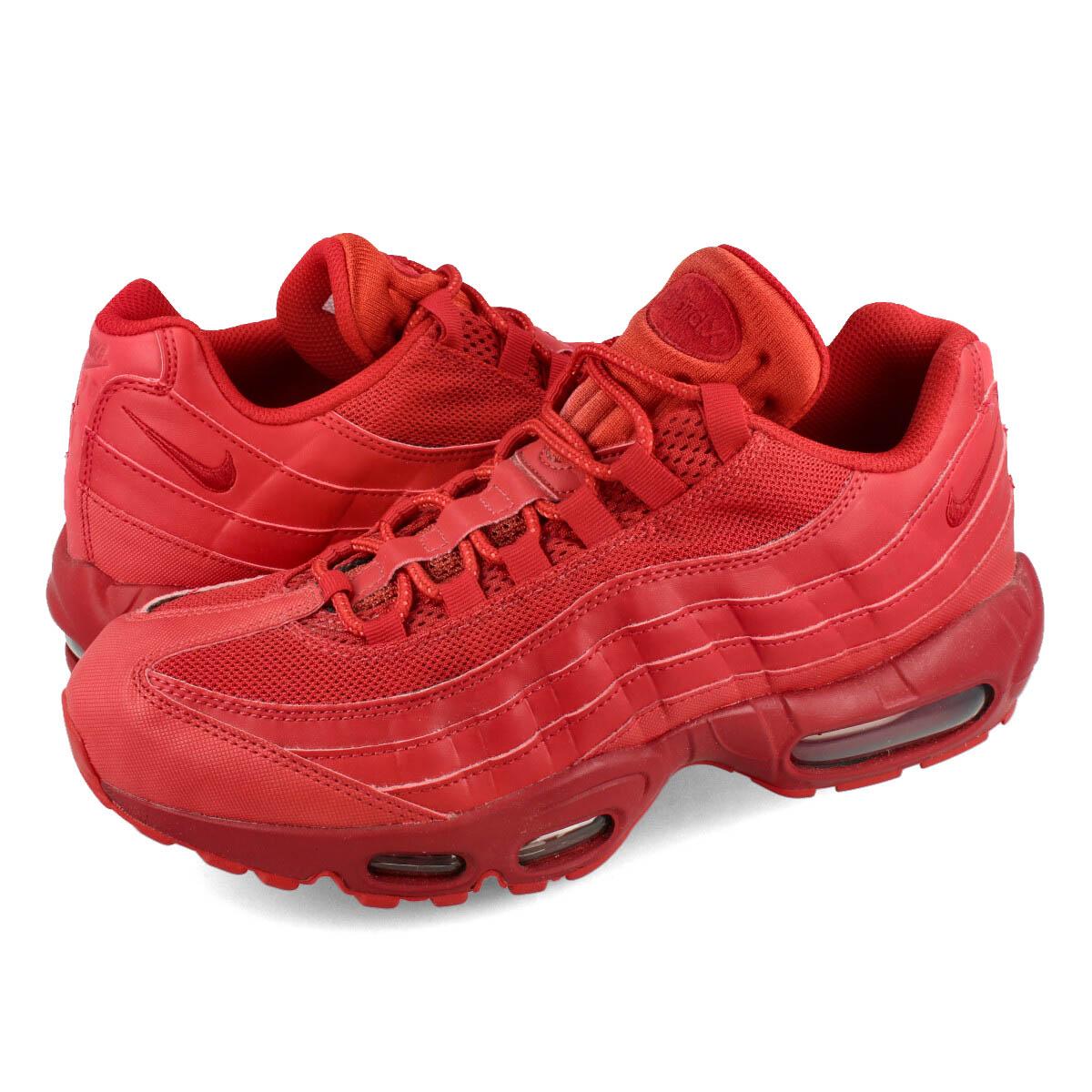 【ビッグ・スモールサイズ】 NIKE AIR MAX 95 ナイキ エア マックス 95 VARSITY RED/VARSITY RED cq9969-600