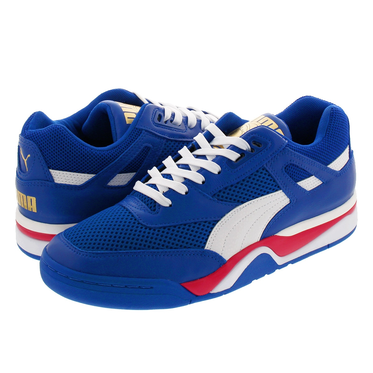 PUMA PALACE GUARD FINALS プーマ パレス ガード ファイナル SURF THE WEB WHITE HIGH RISK RED 370075 01iukXOPZ