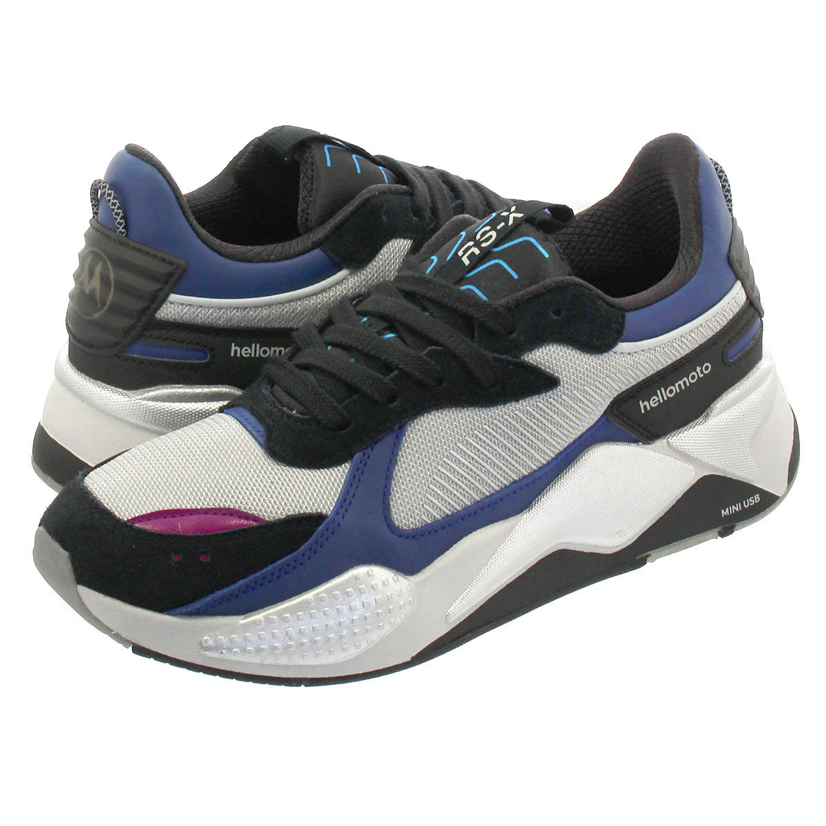 PUMA RS X TECH MOTOROLA Puma RS X technical center Motorola SILVERSODALITE BLUE 370,272 01