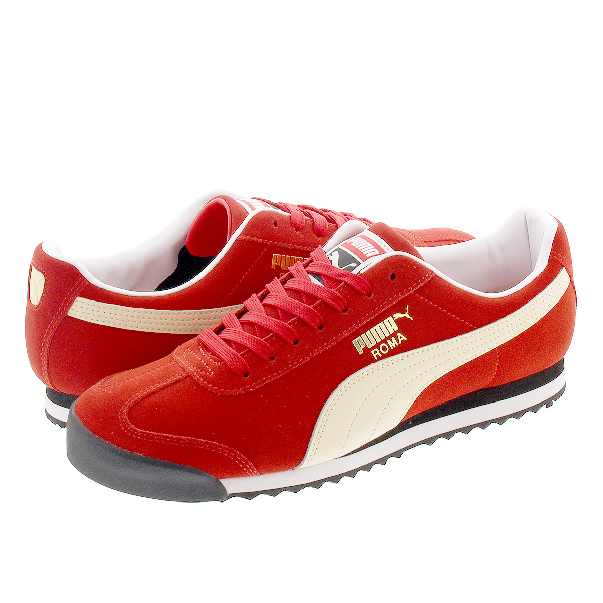 super popular 2aa80 dc4c0 PUMA ROMA SUEDE Puma Lomas aide HIGH RISK RED/SUMMER MELON 365,437-13