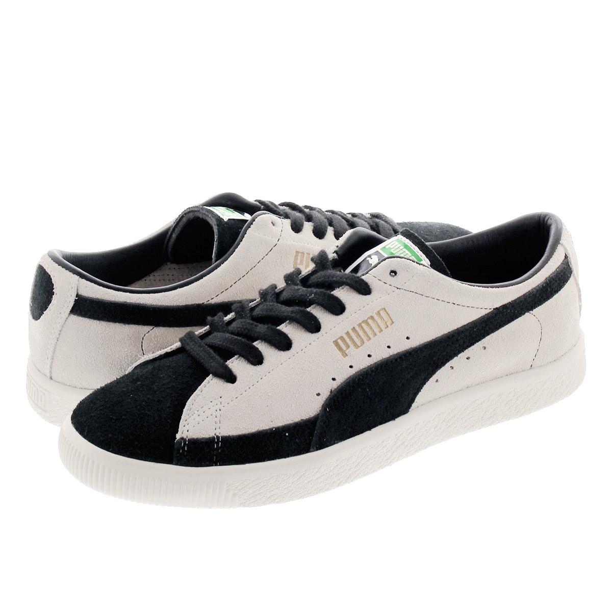 Puma Suede 90681 VTG (beige black) | 43einhalb Sneaker Store