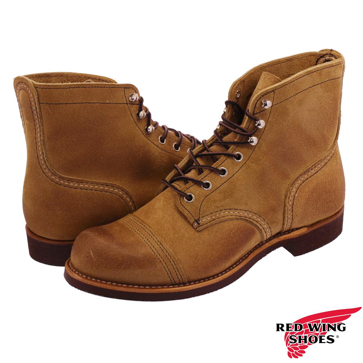 RED WING 6 INCH IRON RANGE BOOT レッドウィング 6 インチ アイアンレンジ ブーツ HAWTHORNE MULESKINNER rw-8083