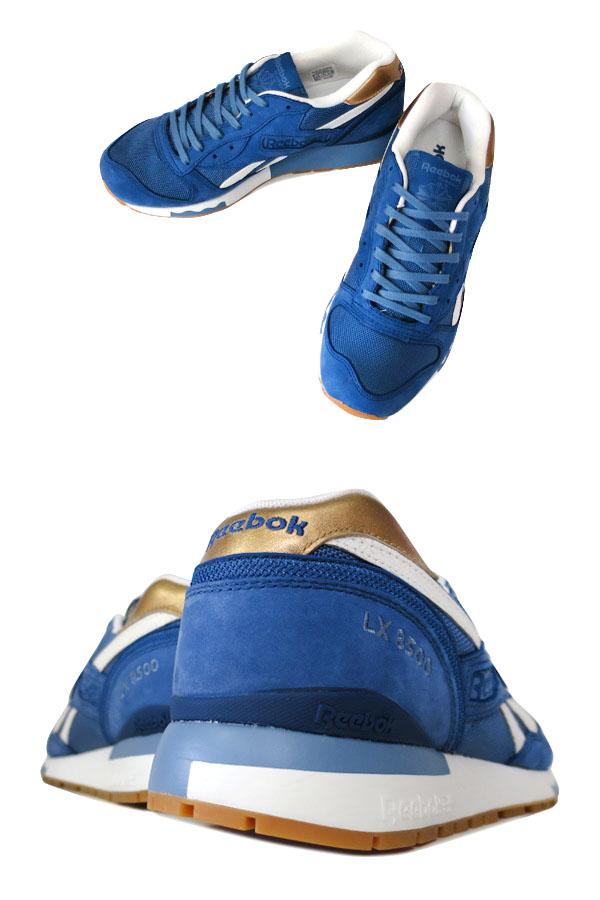 Reebok LX 8500鋭步LX 8500 BATIK BLUE/BLUE SLATE/DARK GOLD