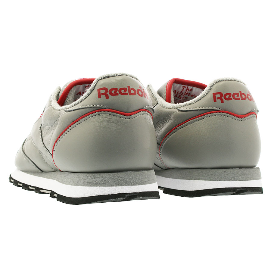 a17ab0175086f Reebok CL LEATHER ARCHIVE Reebok classical music leather archive SOLID  GREY WHITE POWER RED BLACK