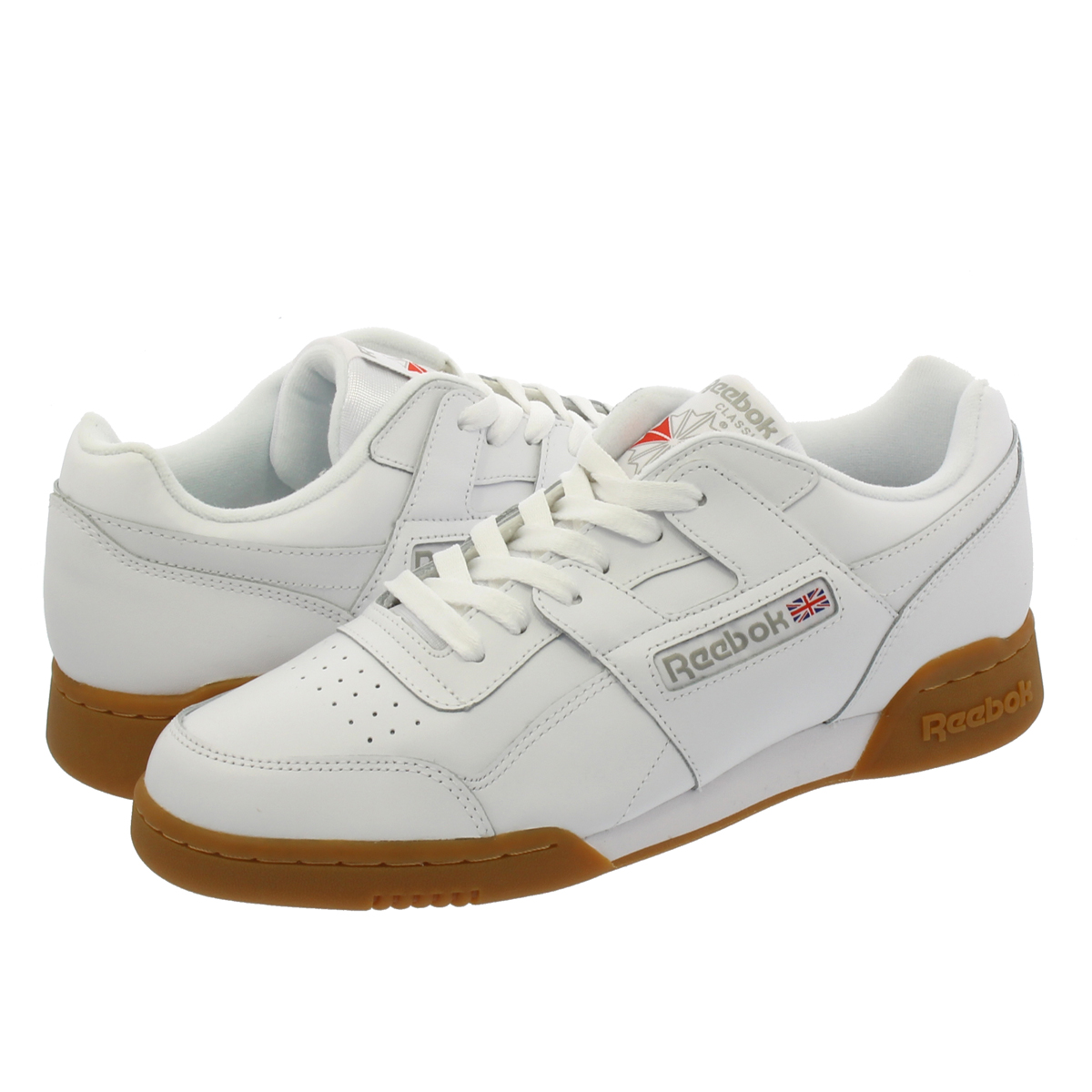 Reebok WORKOUT PLUS リーボック ワークアウト プラス WHITE/CHARCOAL