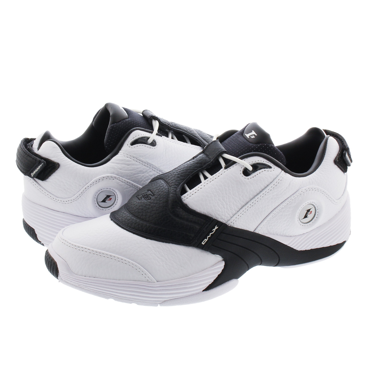 Reebok ANSWER V LOW リーボック アンサー 5 ロー WHITE/BLACK/MATTE SILVER ef7601