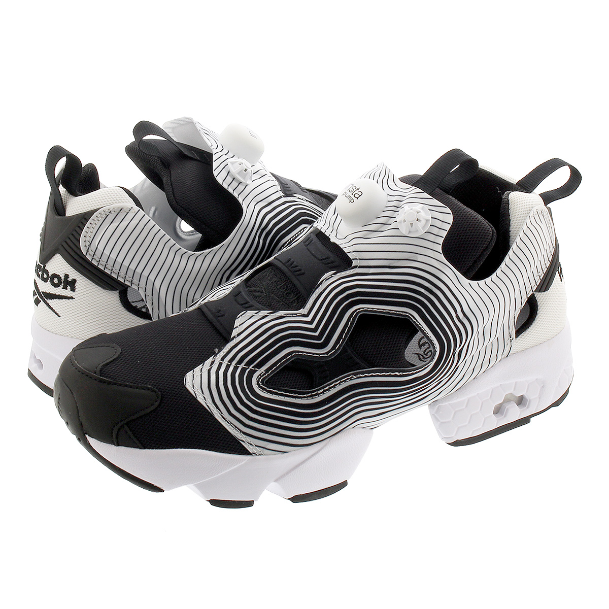 Reebok INSTA PUMP FURY OG NM リーボック インスタ ポンプ フューリー OG NM BLACK/WHITE/BLACK fv4501