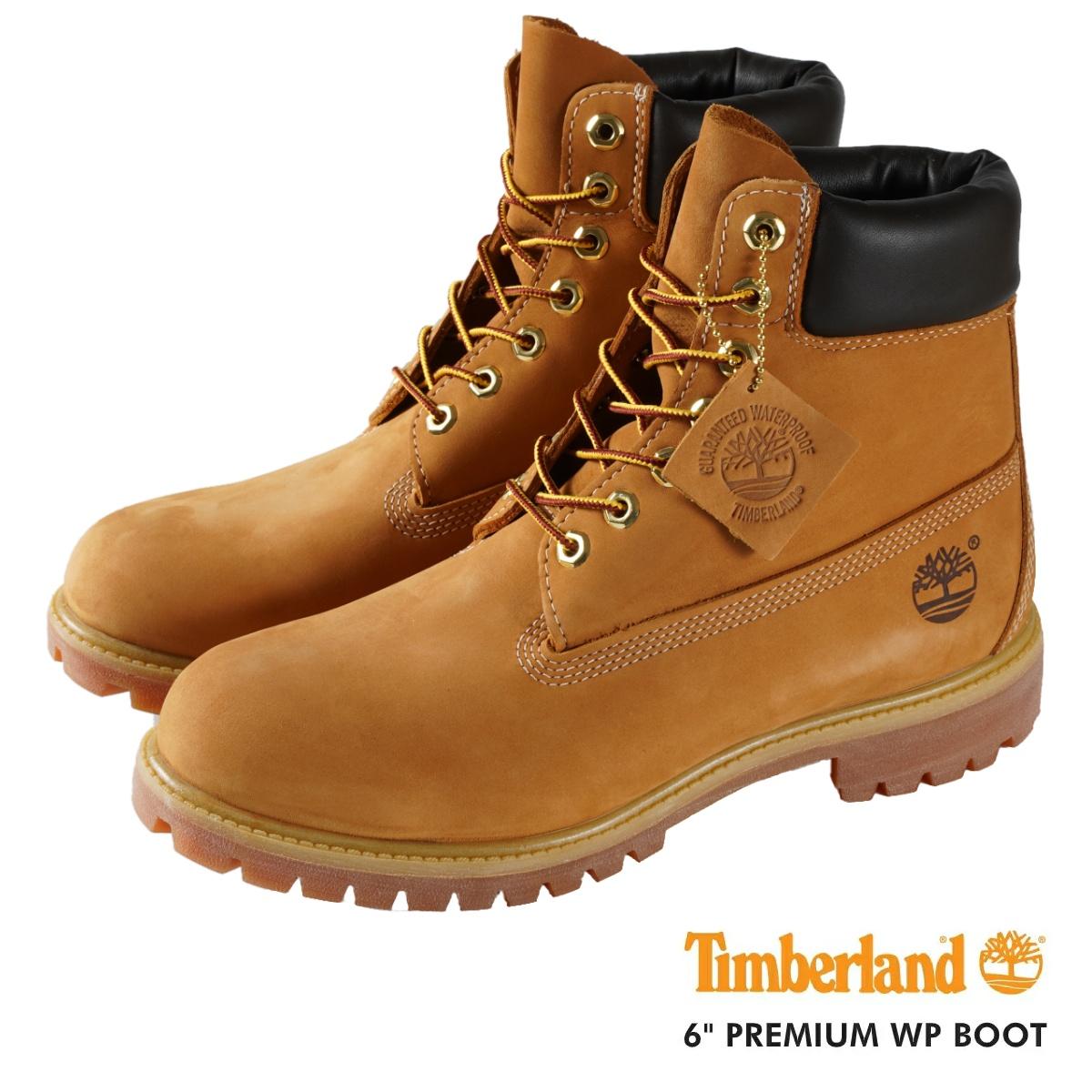 TIMBERLAND 6inch PREMIUM WP BOOT ティンバーランド 6インチ プレミアム ウォータープルーフ ブーツ WHEAT 10061