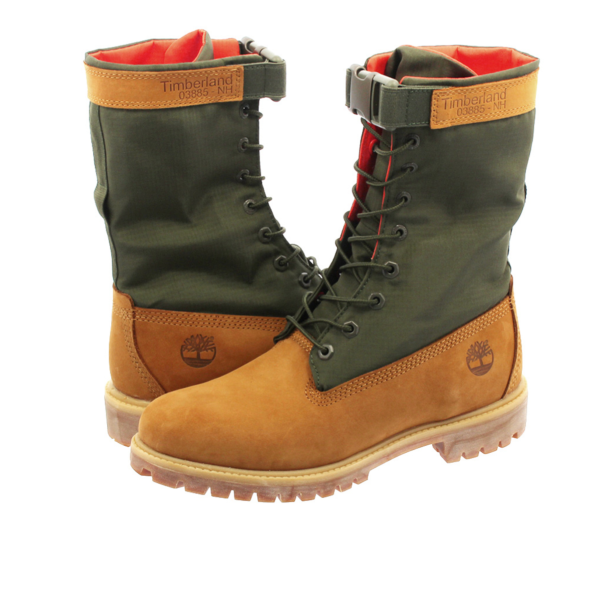 6 inches of Timberland premium gay terboots Timberland 6 In Premium Gaiter Boot A1QY8