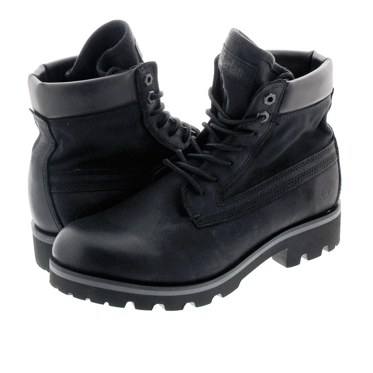【毎日がお得!値下げプライス】 TIMBERLAND RAW TRIBE 6inch BOOT ティンバーランド ロー トライブ 6インチ ブーツ BLACK a283m