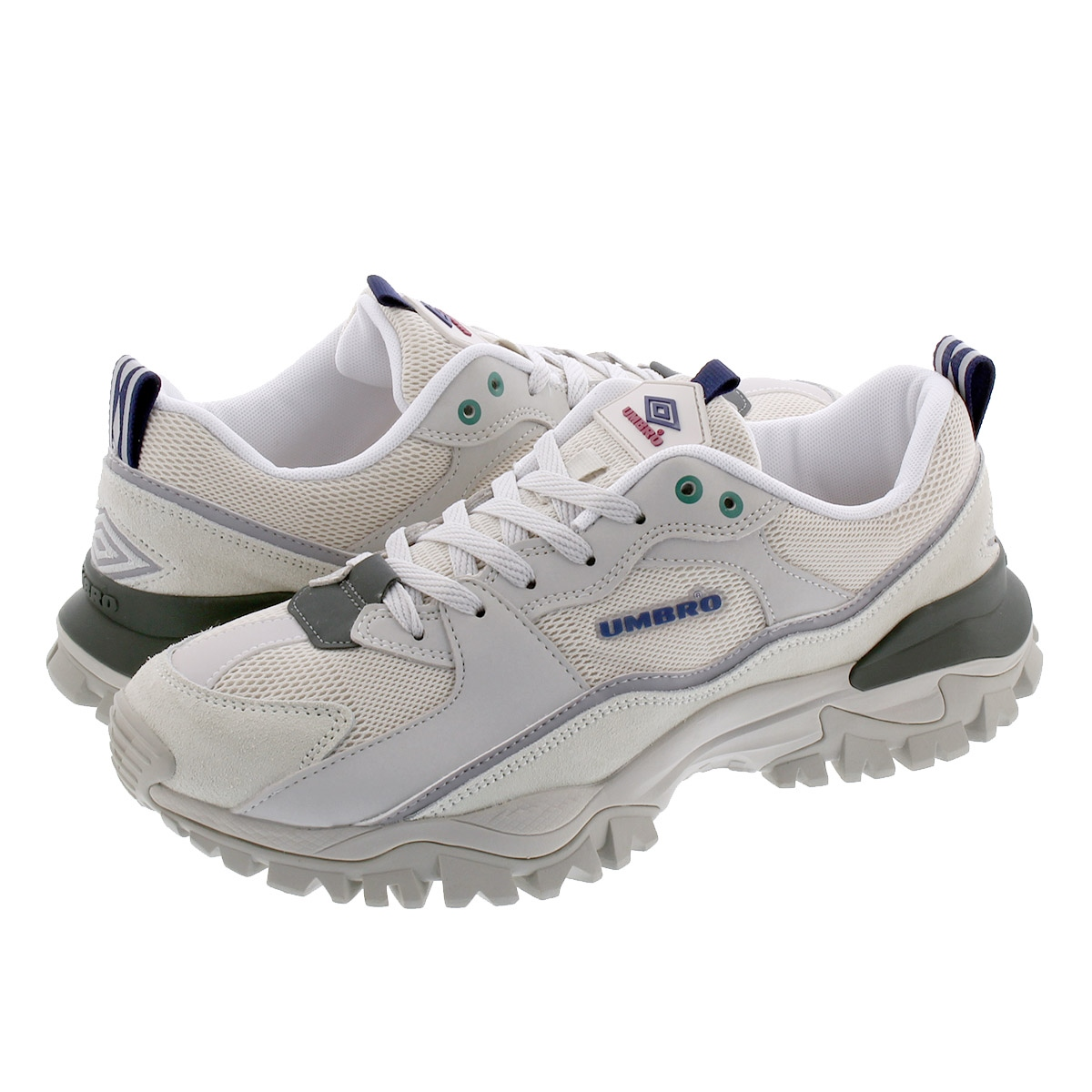 UMBRO BUMPY EARTH アンブロ バンピー アース WHITE/GREY uy1okc01wg