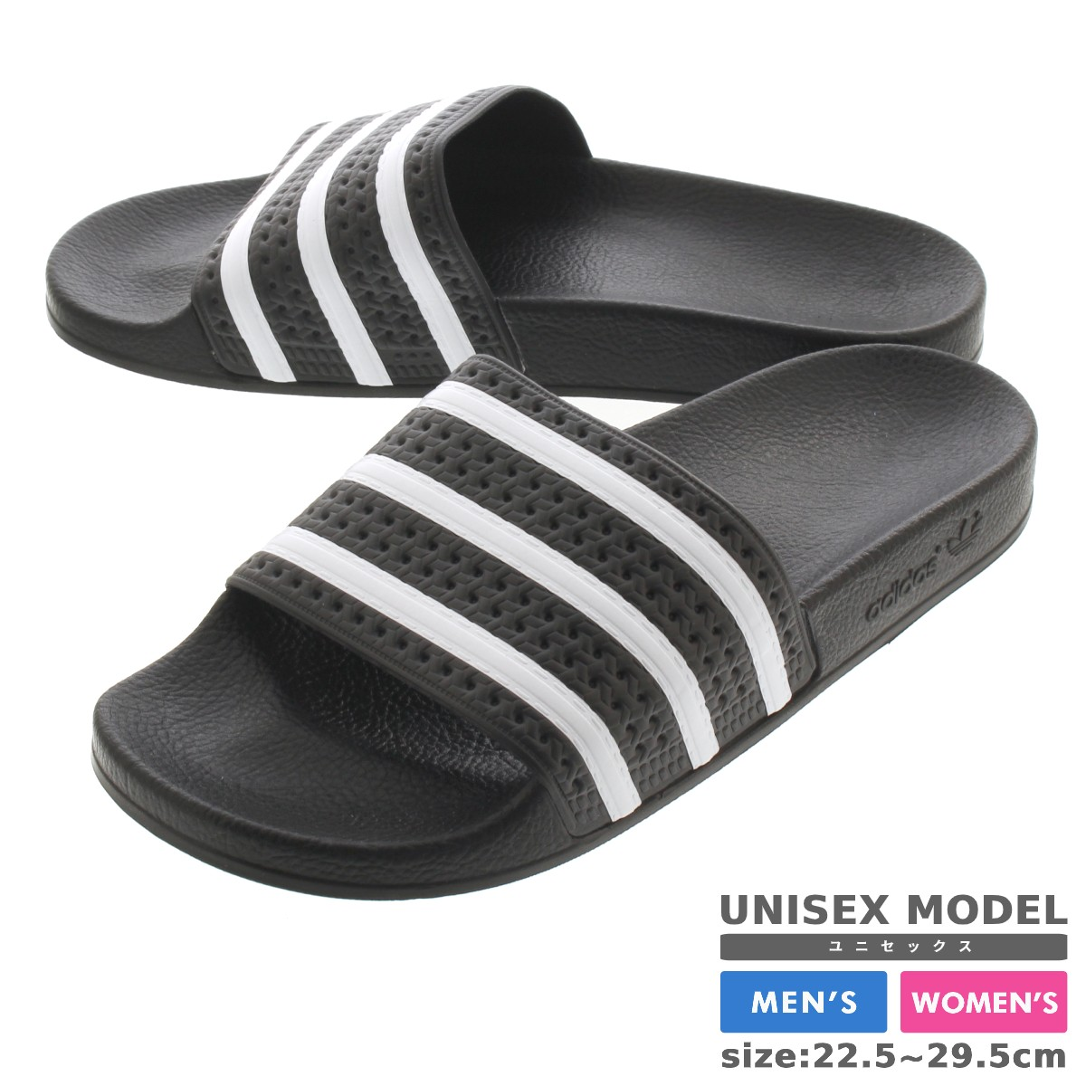 8f1e11676377bf SELECT SHOP LOWTEX  adidas ADILETTE BLACK WHITE  adidas Originals ...