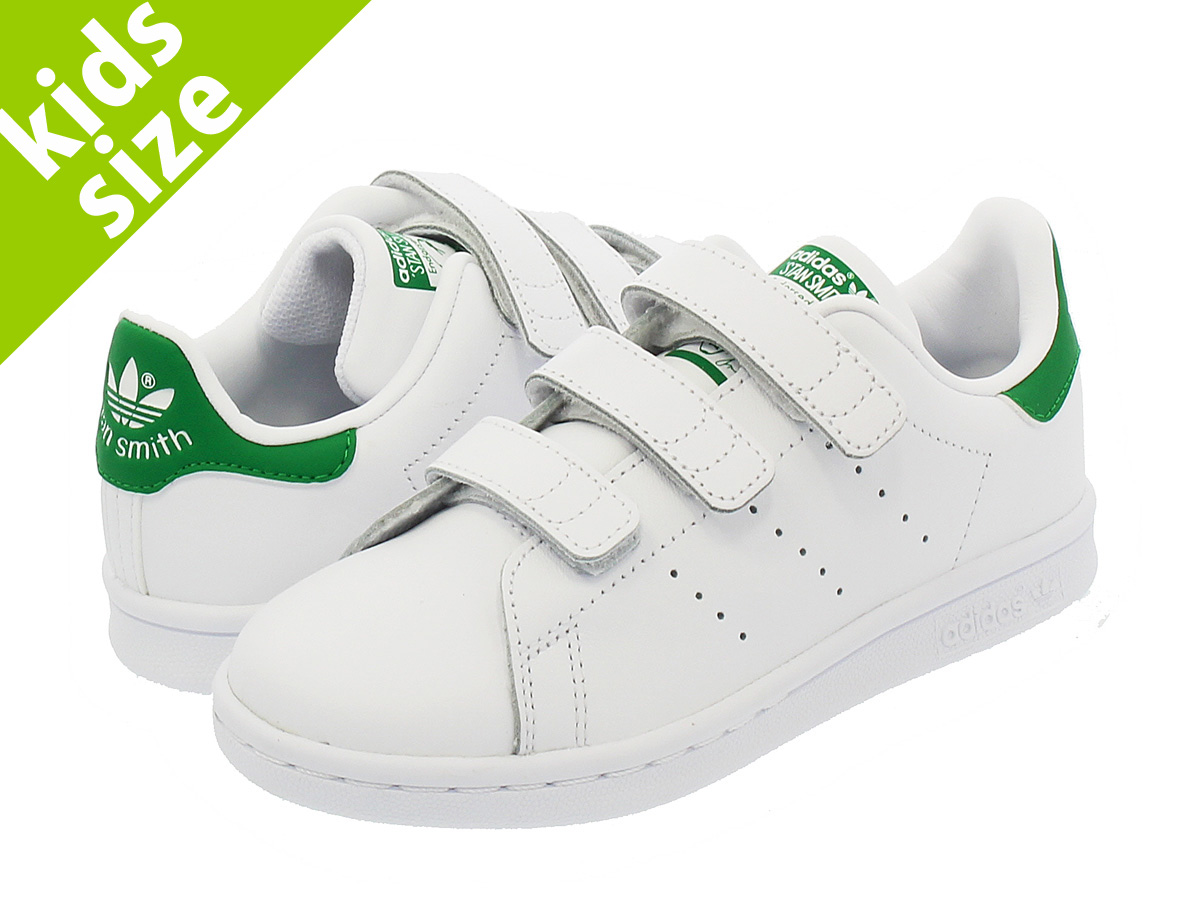 adidas STAN SMITH CF C WHITE/GREEN 【adidas Originals】