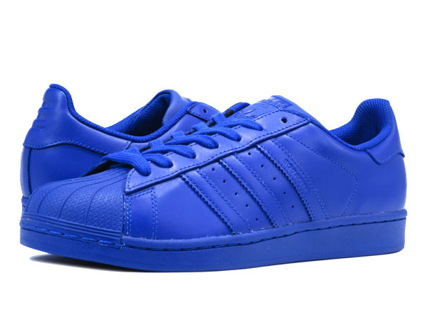 adidas SUPERSTAR SUPERCOLOR阿迪达斯大明星超级市场彩色包BLUE