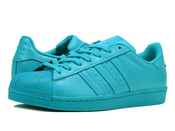 e0b0628f68564 ... Pharrell Williams Adidas Superstar Supercolor Verde Lab S41835 11. adidas  SUPERSTAR SUPERCOLOR Adidas superstar supermarket color pack LAB GREEN .