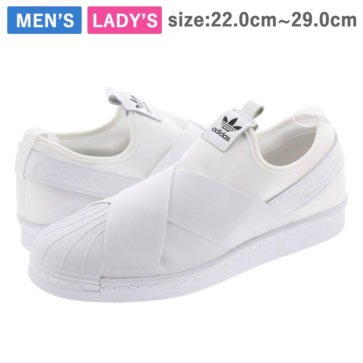 adidas SUPERSTAR Slip On W WHITE ?adidas Originals?