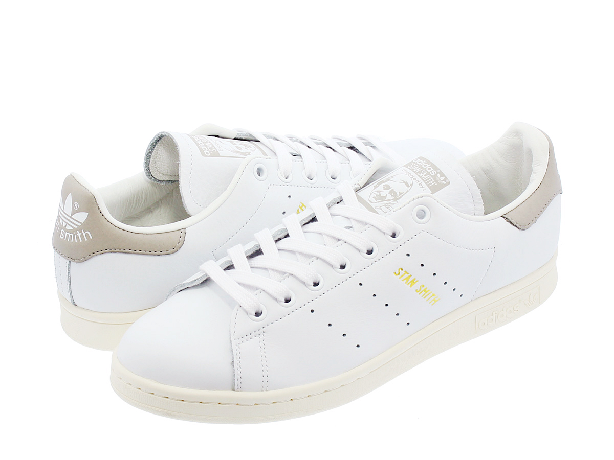adidas Stan Smith阿迪达斯Stan Smith WHITE/CLEAR GRANITE