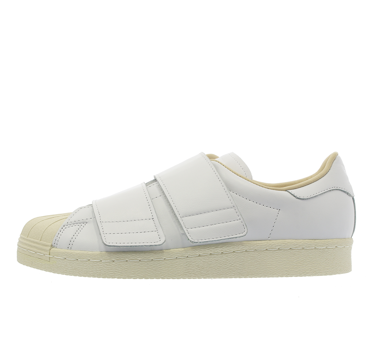 the latest ba2c0 b64ee adidas SUPERSTAR 80s VELCRO W Adidas superstar 80s Velcro W RUNNING  WHITE/RUNNING WHITE/LINEN