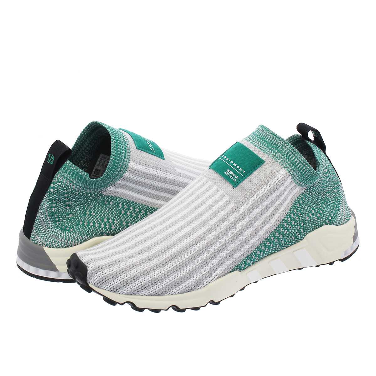 buy online 7cd22 b70df adidas EQT SUPPORT PK 1/3 Adidas EQT support prime knit 1/3 GREY  TWO/RUNNING WHITE/SUB GREEN aq1032