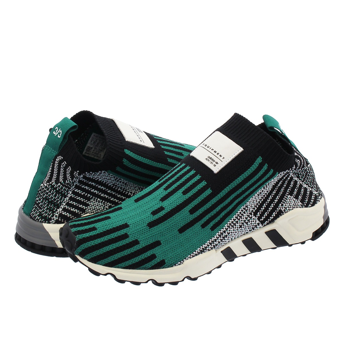on sale 31805 5085e adidas EQT SUPPORT PK 3 3 Adidas EQT support prime knit 3 3 CORE BLACK SUB  GREEN RUNNING WHITE b37523