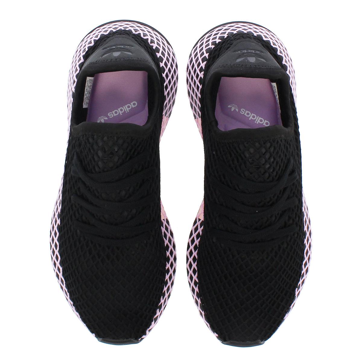 6da438672 adidas DEERUPT RUNNER W アディダスウィメンズディーラプトランナー CORE BLACK CORE BLACK CLEAR  LILAC b37602