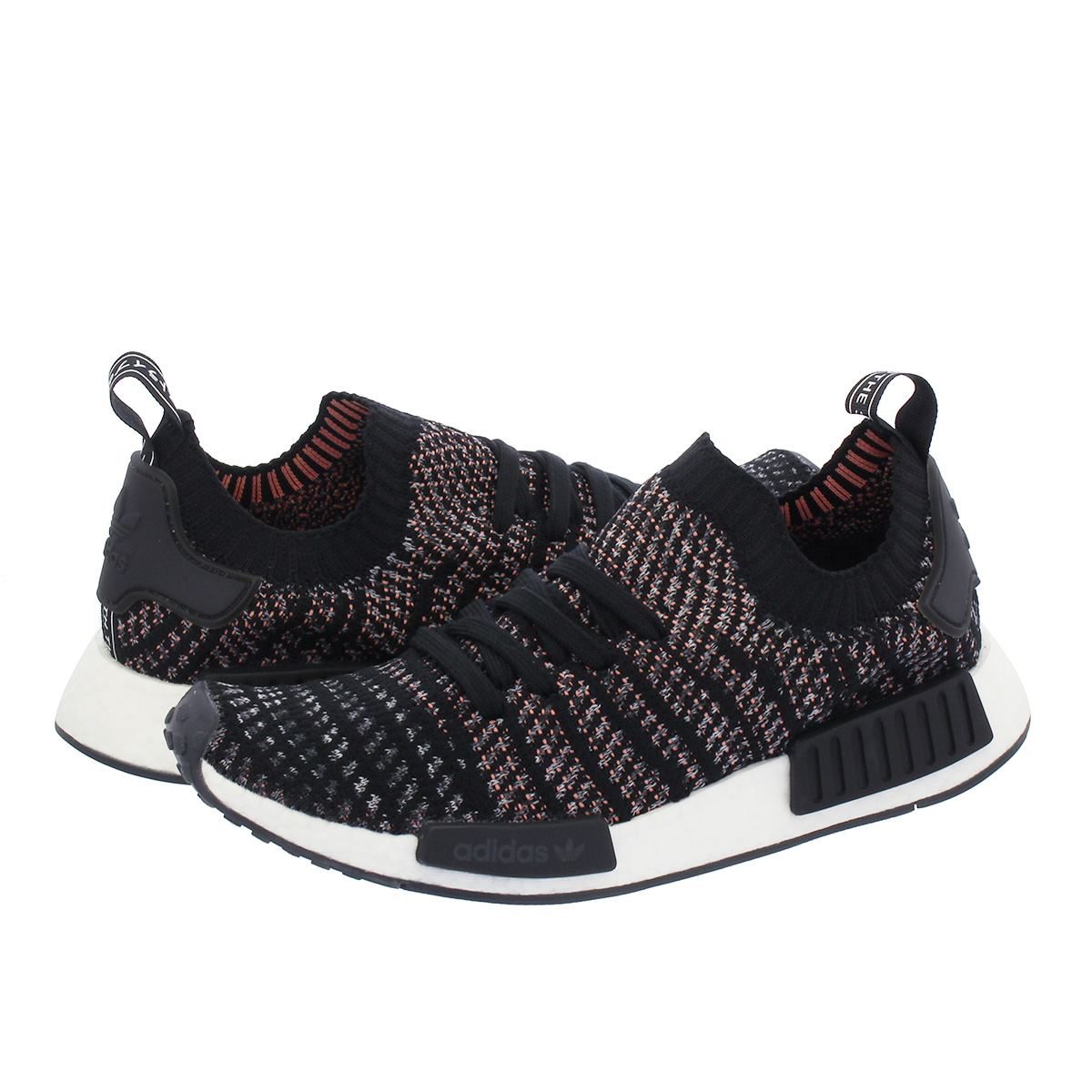 31e3cd5bc925 adidas NMD R1 STLT PK Adidas NMD R1 STLT PK CORE BLACK GREY FIVE GREY TWO  b37636