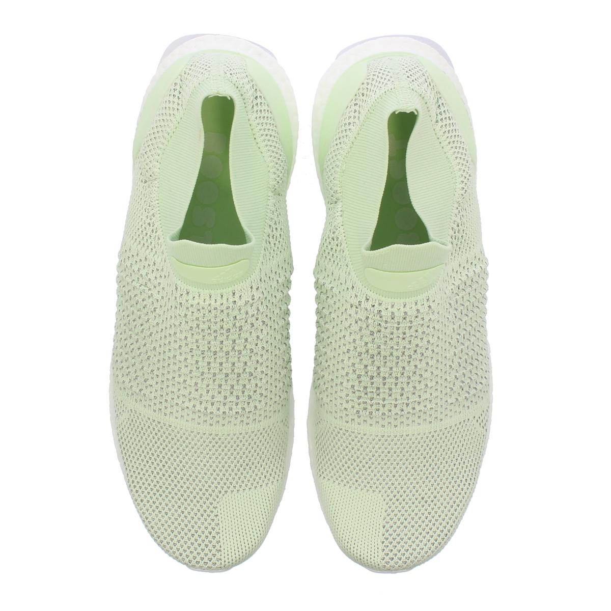 61b0607d1f9fb adidas UltraBOOST LACELESS LTD Adidas ultra boost raceless LTD ASH GREEN AERO  GREEN RUNNING WHITE