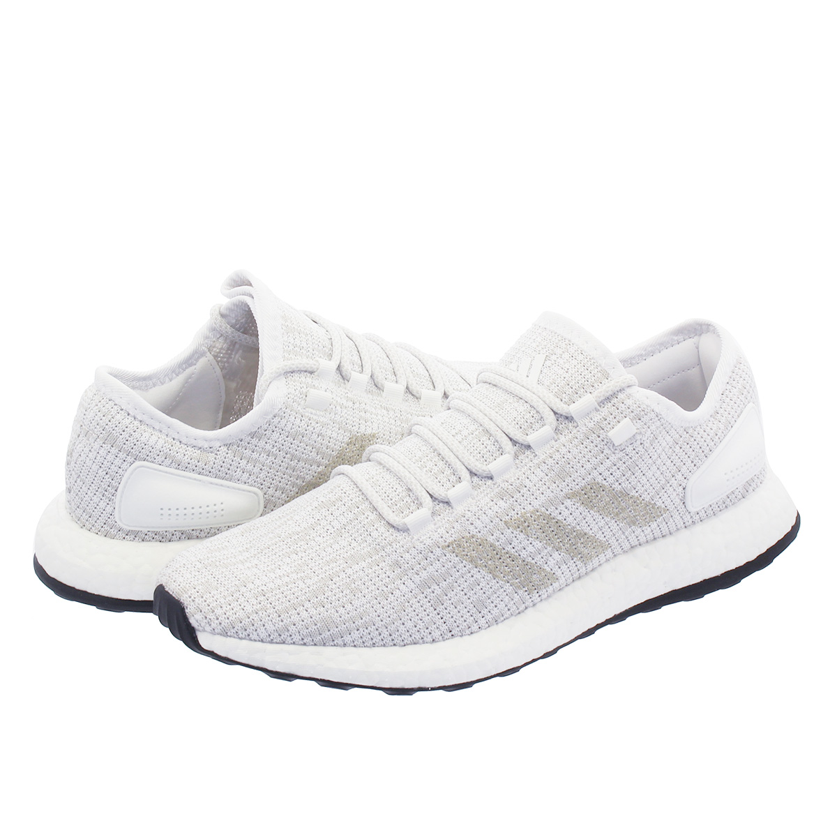 online store d7a98 08024 adidas PureBOOST Adidas pure boost RUNNING WHITE GREY ONE CRYSTAL WHITE  bb6277 ...