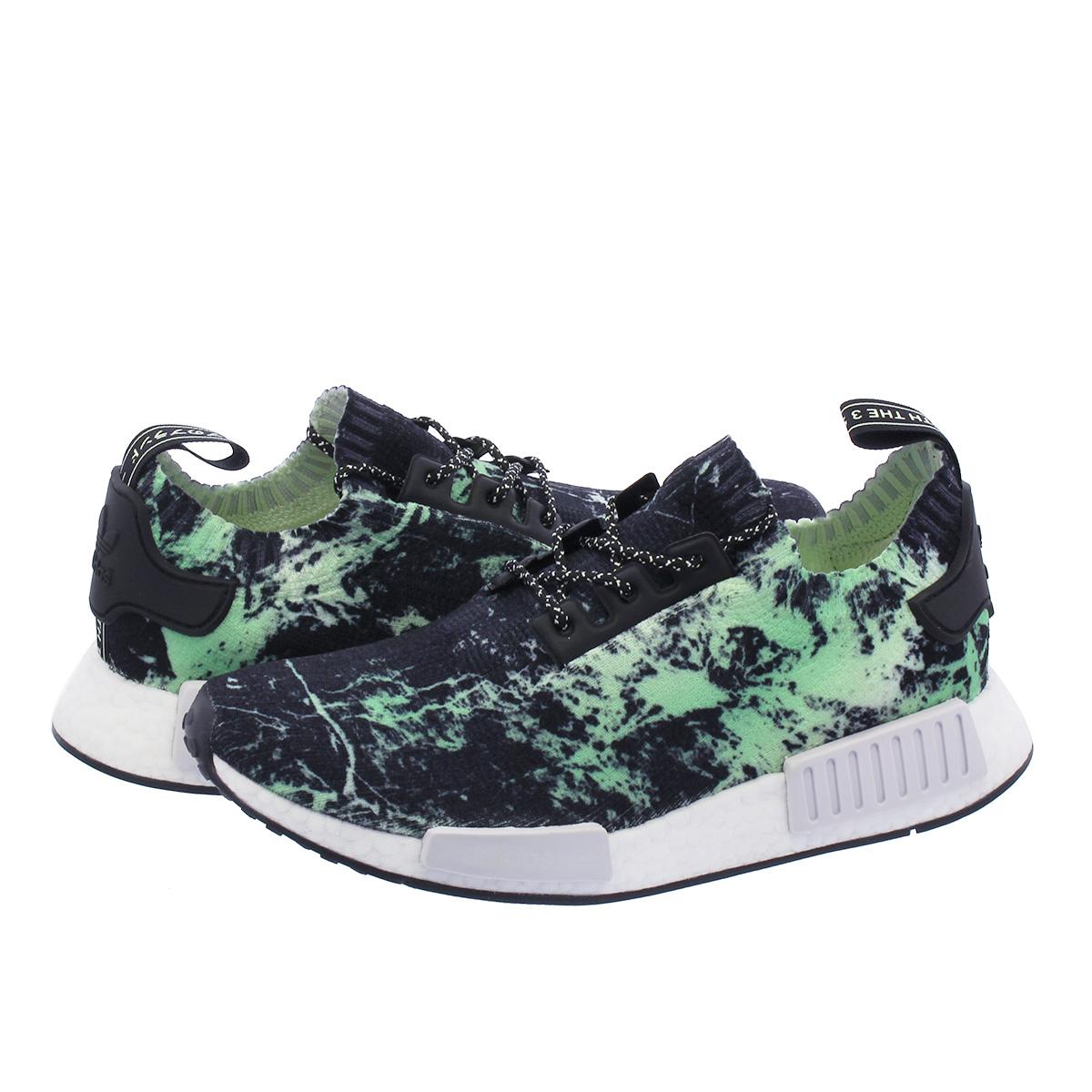 info for 44eb6 f0a29 adidas NMD R1 PK Adidas nomad R1 PK BLACK/WHITE/GREEN bb7996