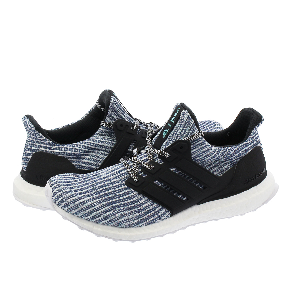cf2ae555791 adidas ULTRA BOOST PARLEY Adidas ultra boost gone lei WHITE CARBON BLUE  SPIRIT bc0248