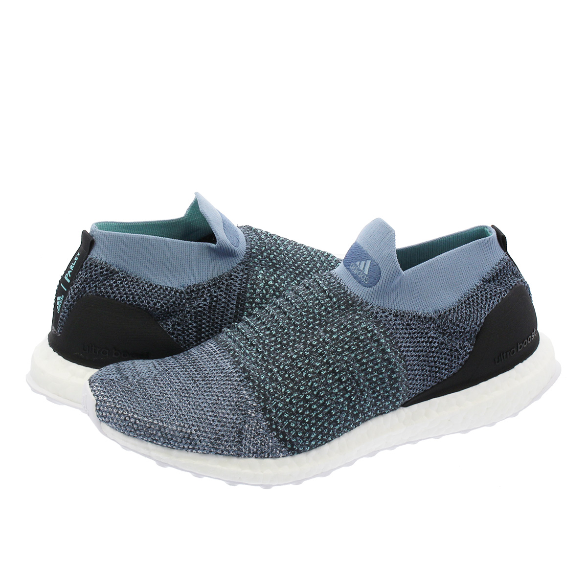 new products 9c091 abca8 adidas UltraBOOST LACELESS PARLEY Adidas ultra boost raceless gone lei  GREY/CARBON/BLUE SPLIT cm8271