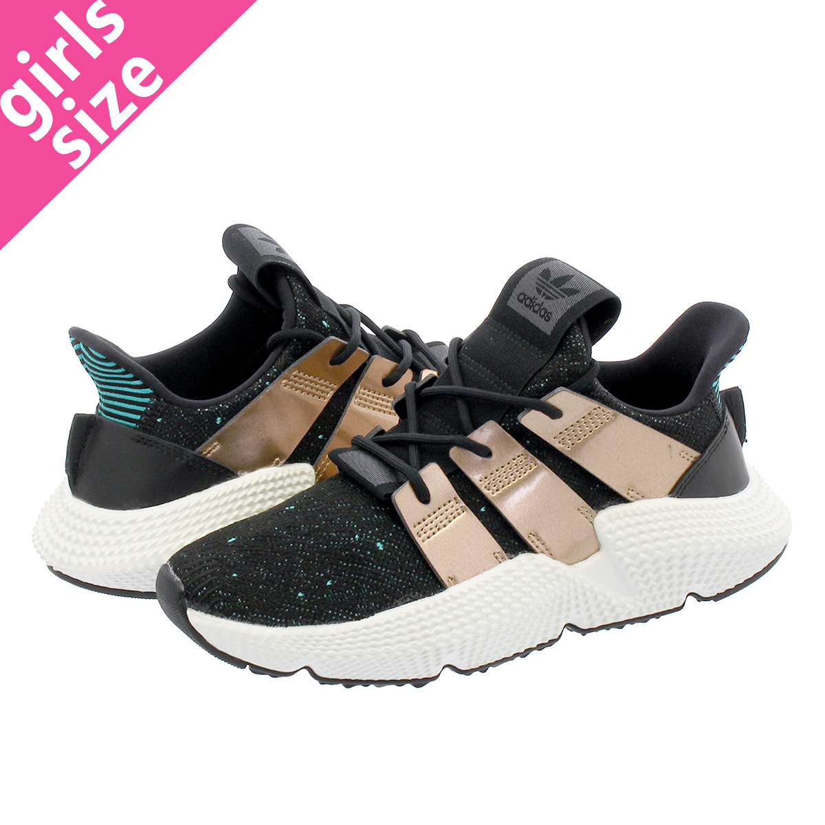 reputable site 2daf6 24151 adidas PROPHERE W Adidas pro Fear W CORE BLACKLIGHT COPPER METHI-RES AQUA