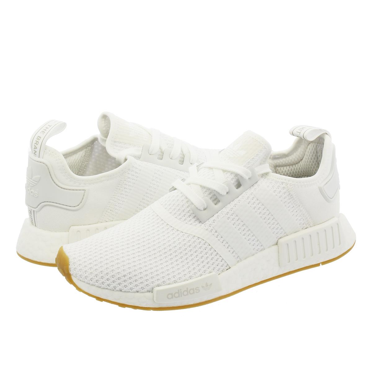 【毎日がお得!値下げプライス】 adidas NMD_R1 【adidas Originals】 アディダス ノマド R1 WHITE/WHITE/GUM