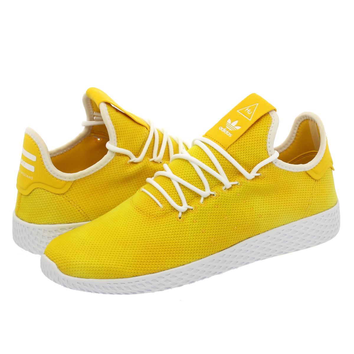adidas PW HU HOLI TENNIS HU Adidas Farrell Williams tennis HU YELLOW WHITE 9df13fb88fd