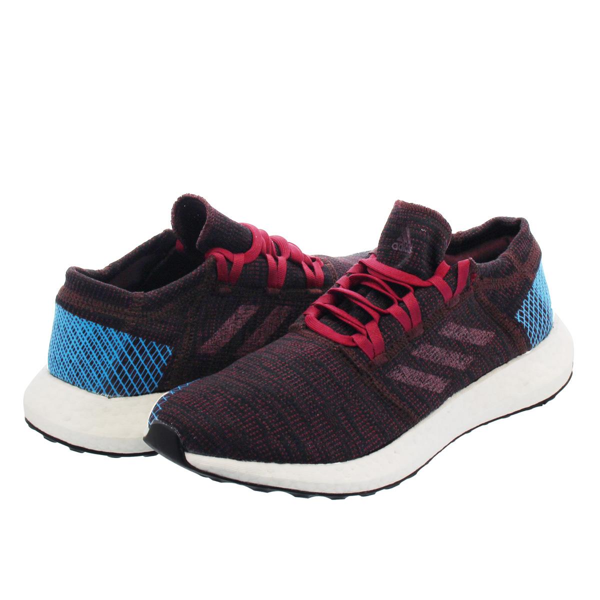 ec3dd3228cd8a adidas PureBOOST GO Adidas pure boost GO NIGHT RED NOBLE MAROON BRIGHT BLUE  ah2326