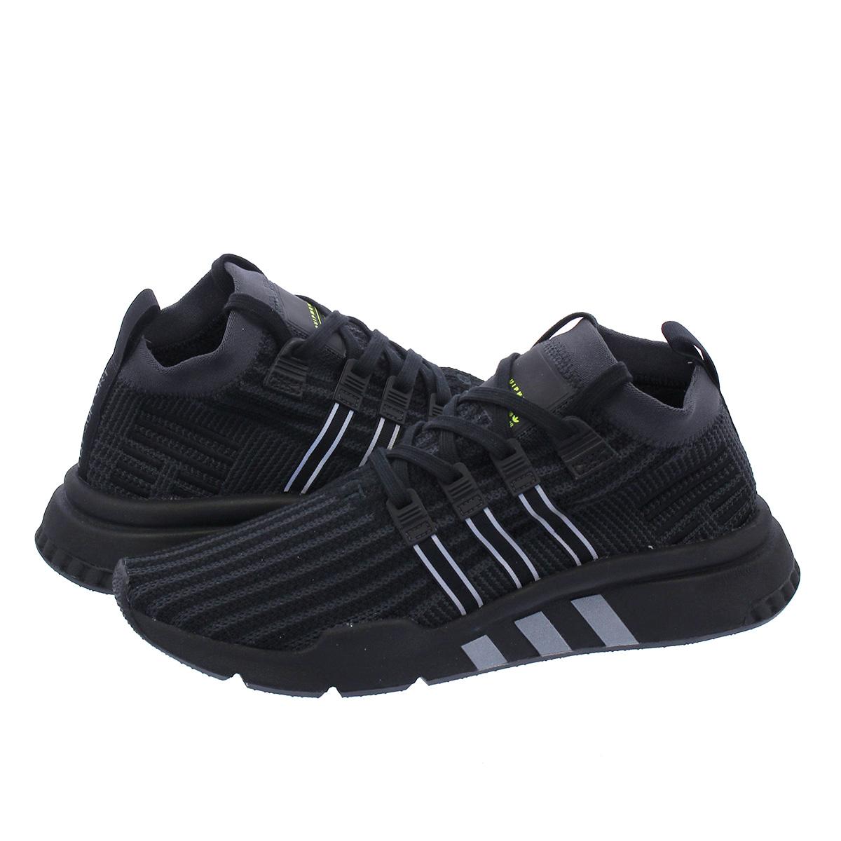 buy online f4ceb 4ec5b adidas EQT SUPPORT MID ADV PK Adidas EQT support mid ADV PK CORE  BLACK/CARBON/SOLAR YELLOW b37456