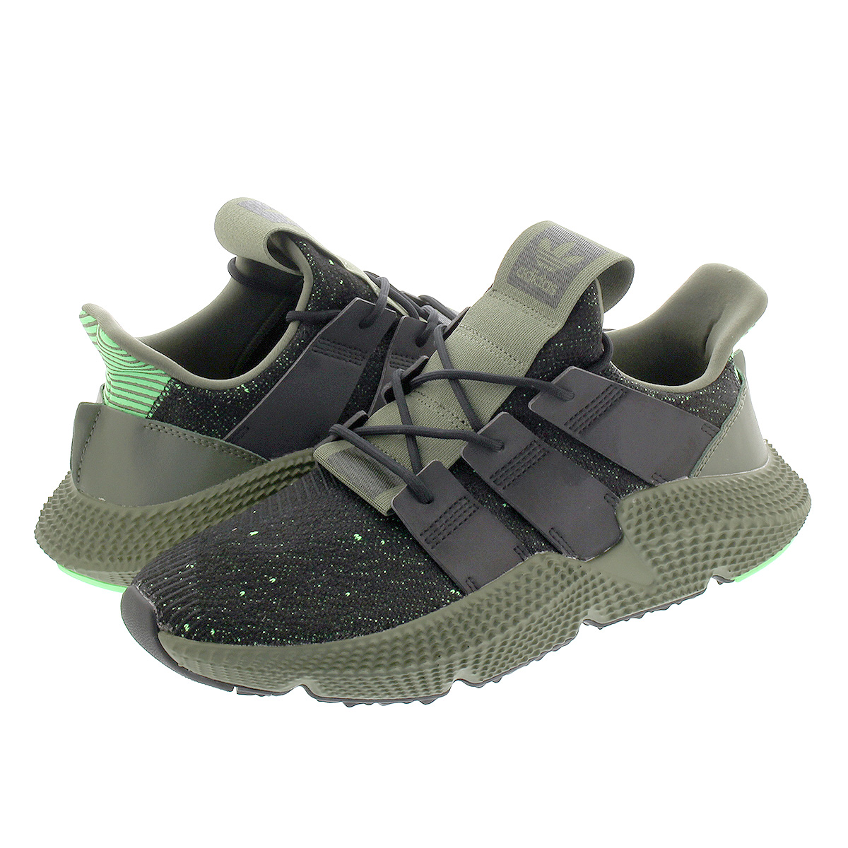 newest 95a3a 503d1 adidas PROPHERE Adidas pro Fear CORE BLACKCORE BLACKSHOCK LIME b37467