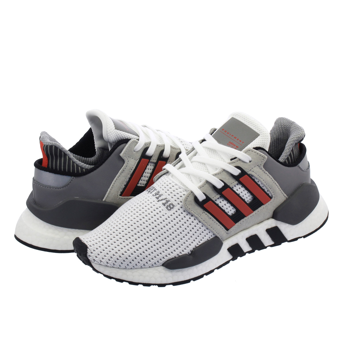 on sale 2539c a5a74 adidas EQT SUPPORT 91/18 Adidas EQT support 91/18 RUNNING WHITE/HI-RES  RED/GREY ONE b37521