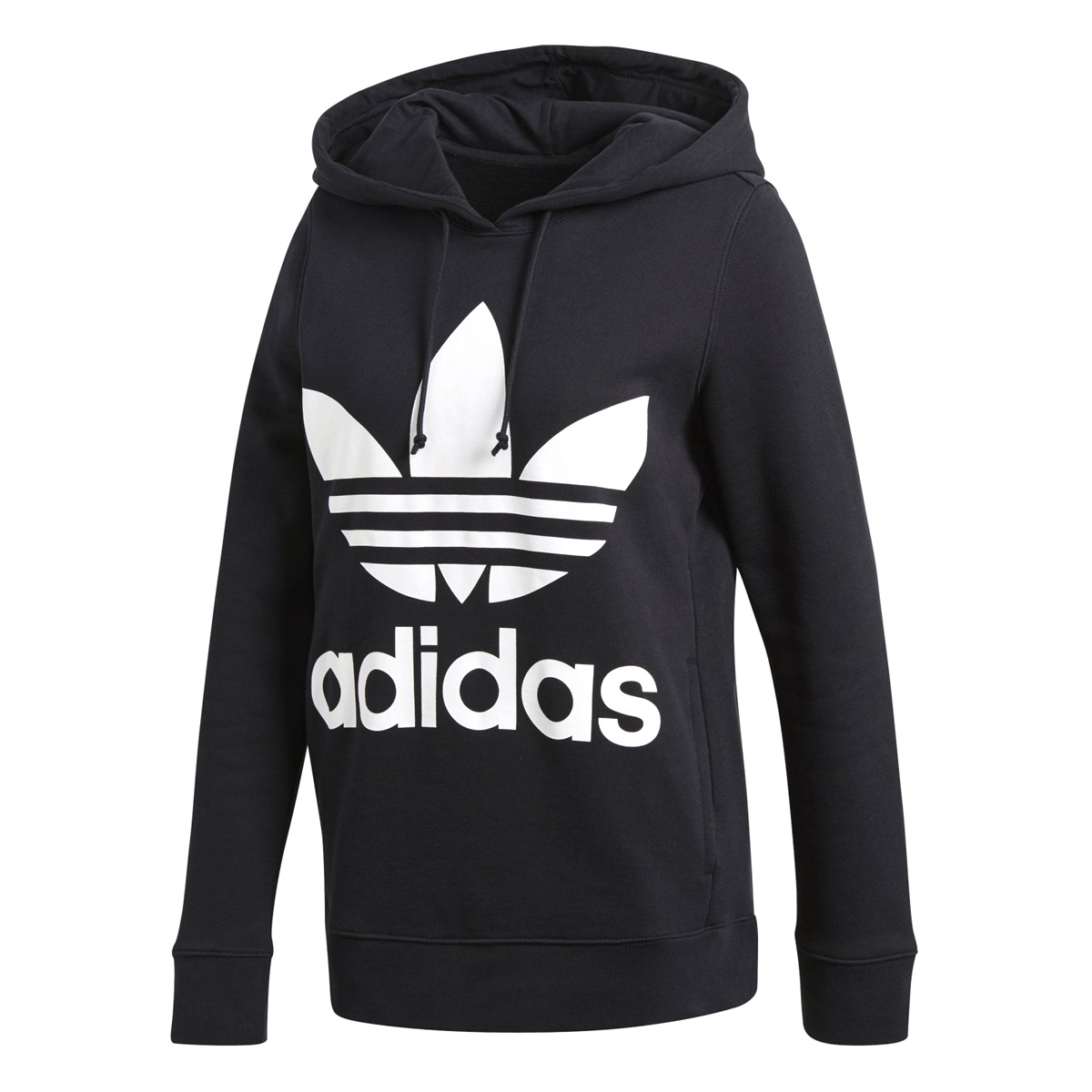 adidas TREFOIL HOODIE アディダス トレフォイル フーディー BLACK