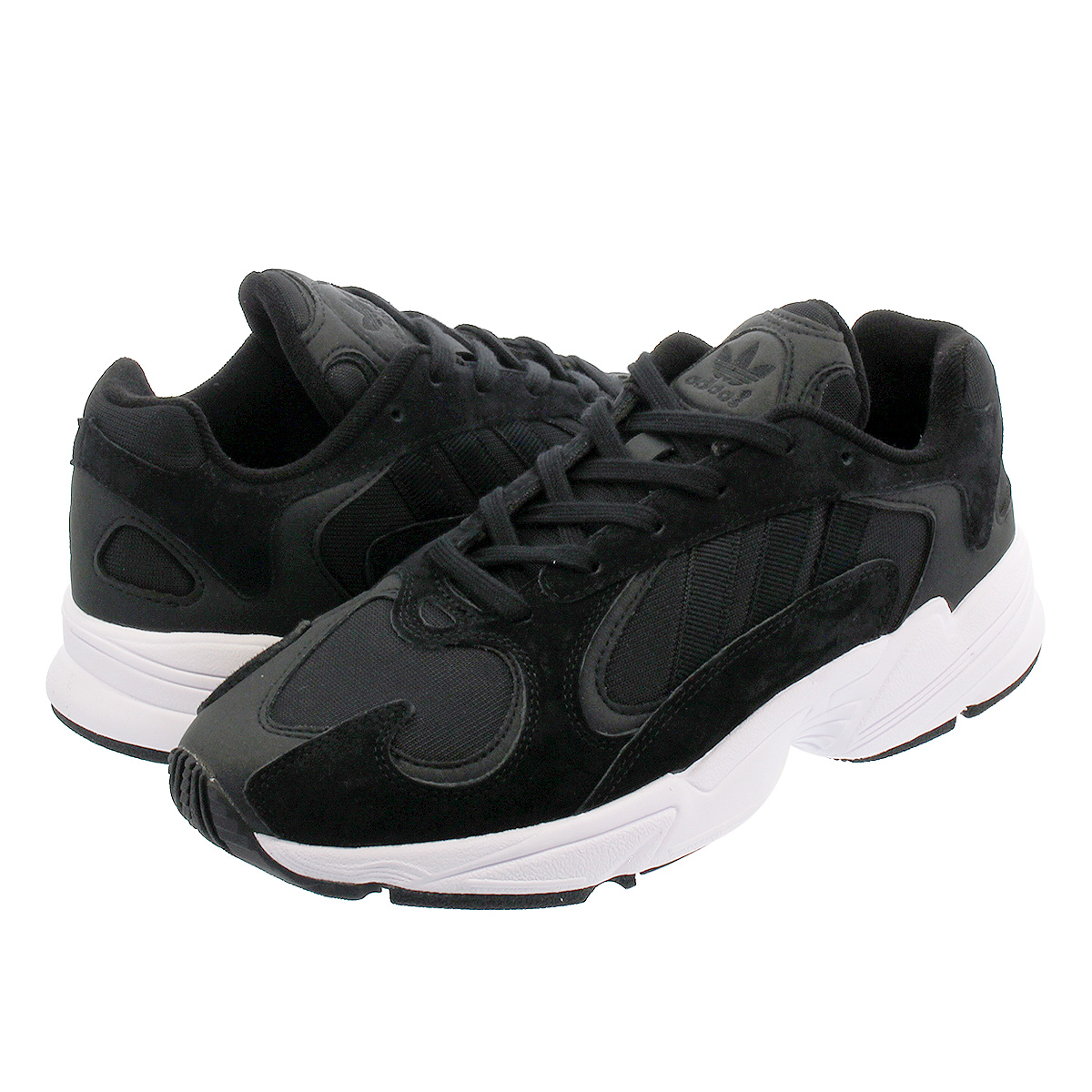 【お買い物マラソンSALE】 adidas YUNG-1 【adidas Originals】 アディダス ヤング 1 CORE BLACK/CORE BLACK/RUNNING WHITE cg7121
