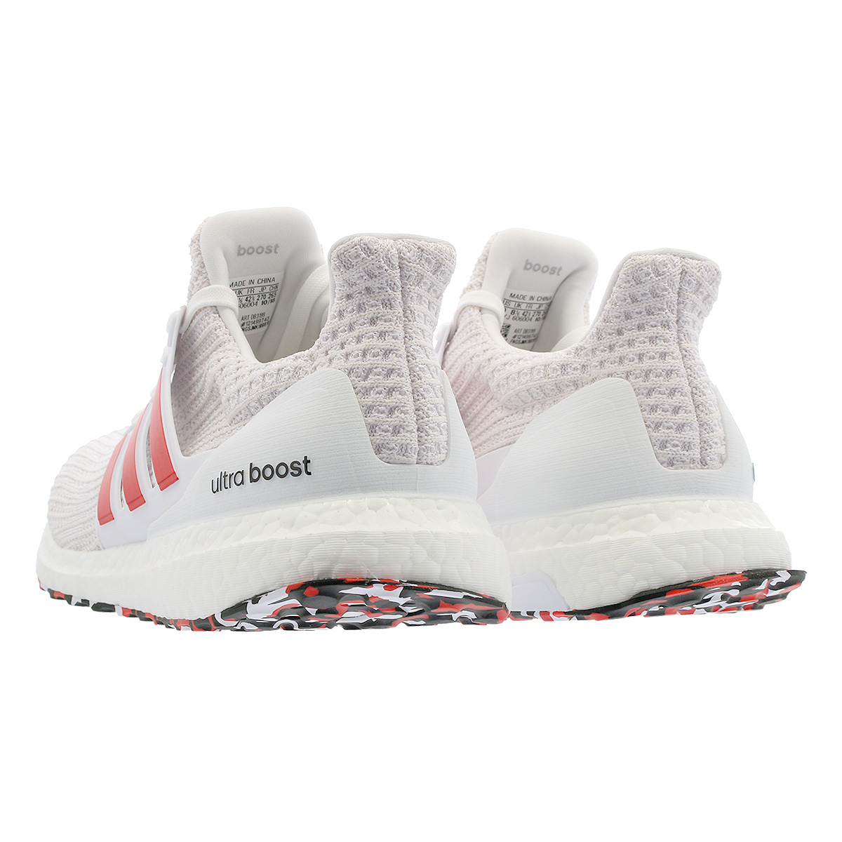 908ba9be0e2 adidas ULTRA BOOST Adidas ultra boost RUNNING WHITE ACTIVE RED CHALK WHITE  db3199