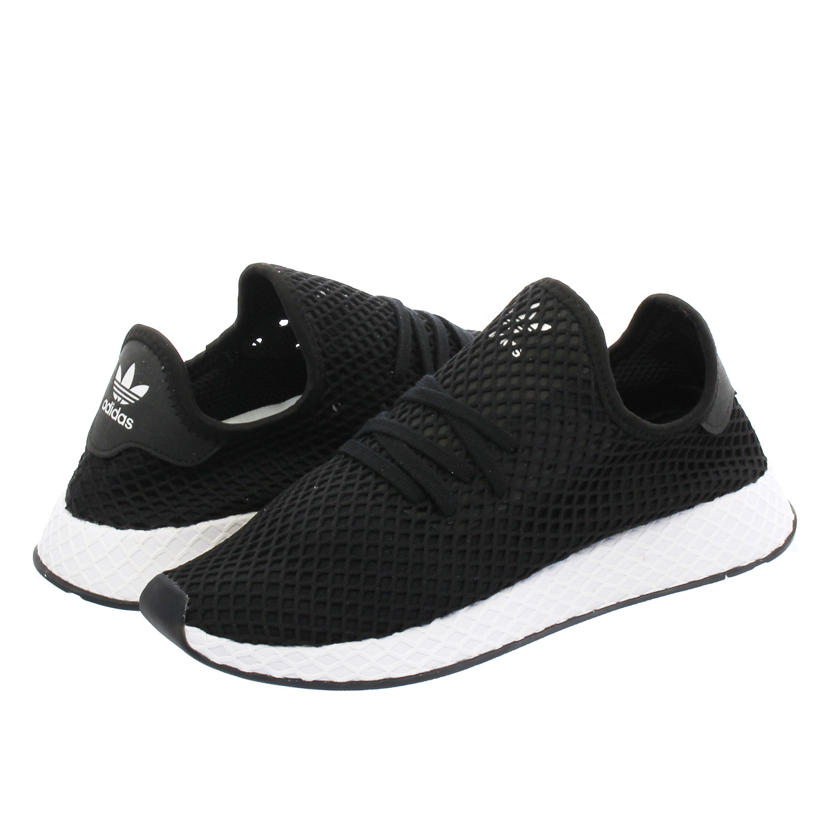 adidas DEERUPT RUNNER KICKS LAB. アディダス ディーラプト ランナー キックスラボ 【KICKS LAB. EXCLUSIVE】 CORE BLACK/CORE BLACK/RUNNING WHITE