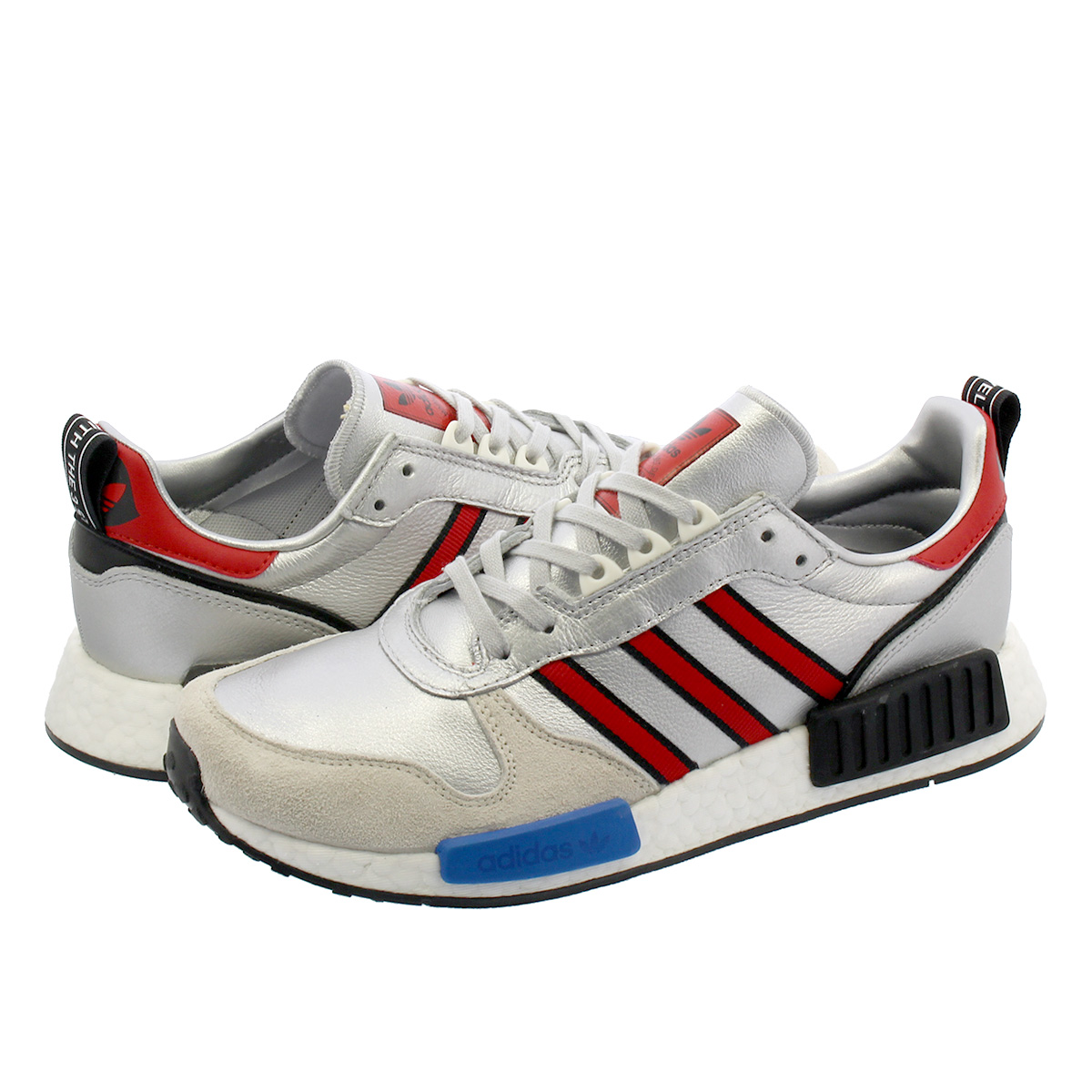 adidas RISINGSTAR x R1 【Never Made】 【国内店舗限定モデル】 アディダス ライジングスター x R1 SILVER MET/COLLEGE RED/RUNNING WHITE